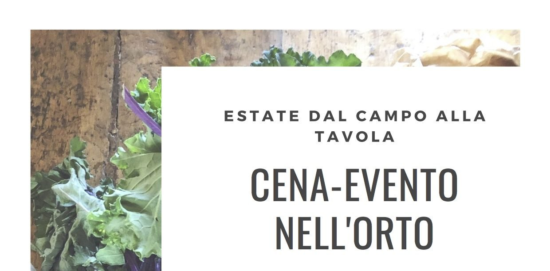 Cena-Evento nell'Orto a Udine