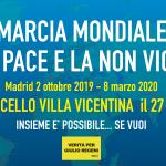 *RINVIATA* Il 27 febbraio la Marcia mondiale per la pace e la nonviolenza passerà per Fiumicello Villa Vicentina