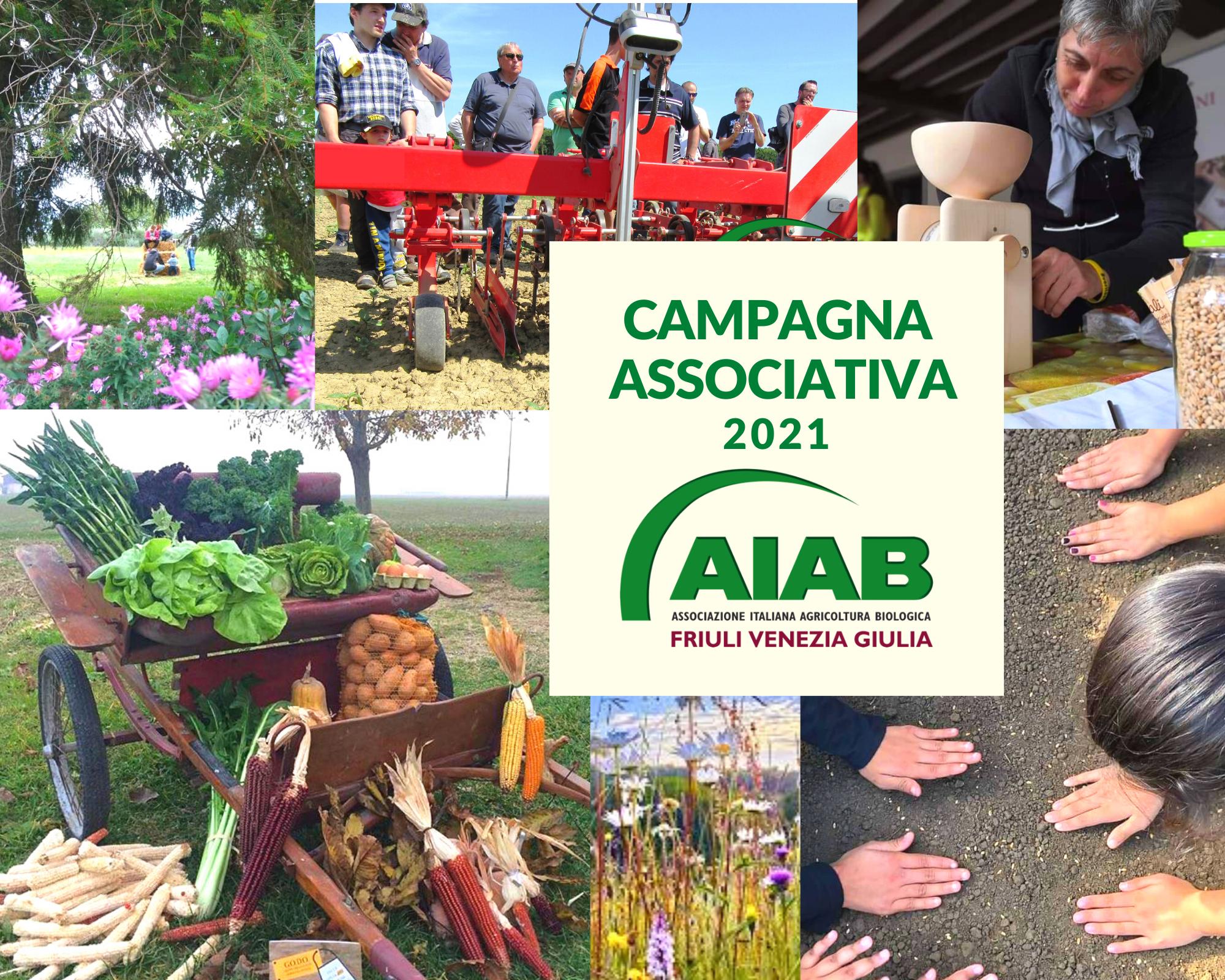 Campagna Associativa AIAB FVG – anche nel 2021 non puoi fare scelta migliore! 🌱